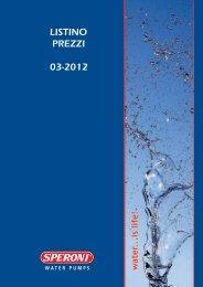 2012_SPERONI_LISTINO SPERONI 2012.pdf - Ferramenta.Biz