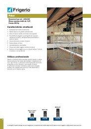 Caratteristiche strutturali Utilizzo professionale - Ferramenta.Biz