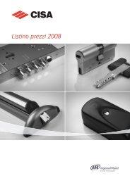 CISA Listino 2008.pdf - Marinelli Edilizia