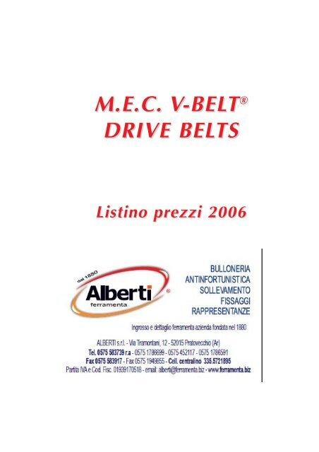 Cinghia trapezoidale a//13/X 2000/Li DIN 2215/V Belt