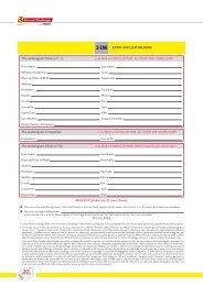 Entry application form - Ferrari Corse Clienti