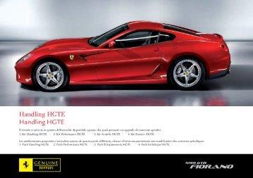 Handling HGTE Handling HGTE - Ferrari