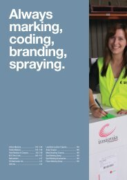 Always marking, coding, branding, spraying. - Ferret