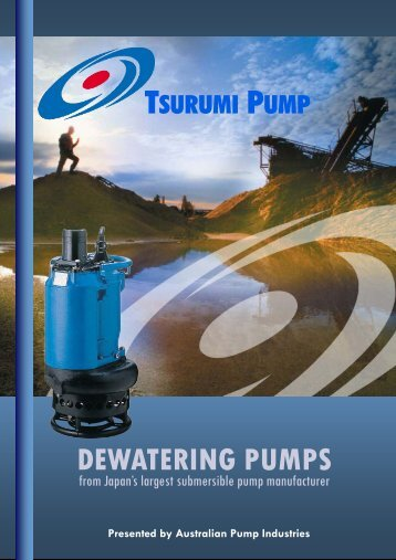 Tsurumi Dewatering Pumps Introduction (Aug 2011).pub - Ferret
