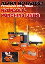 HYdraulic puncHing units - Ferret