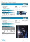 Cobalarc Hardfacing Electrodes - Ferret - Page 6