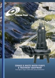 sewage & waste water pumps & treatment equipment - Ferret