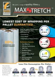 lowest cost of wrapping per pallet guaranteed… - Ferret