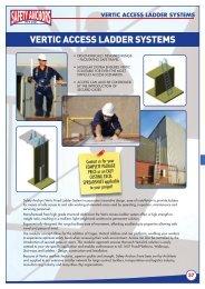 Vertic Access Ladder system - Ferret