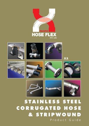 STAINLESS STEEL CORRUGATED HOSE & STRIPWOUND