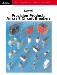 Precision Products Aircraft Circuit Breakers - Ferret