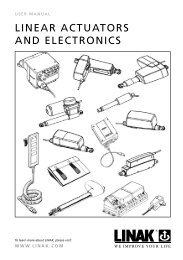 Linear Actuators and Electronics_ver_P_eng.indd - Ferret