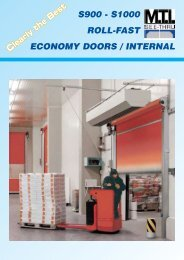 S900 - S1000 ROLL-FAST ECONOMY DOORS / INTERNAL ... - Ferret