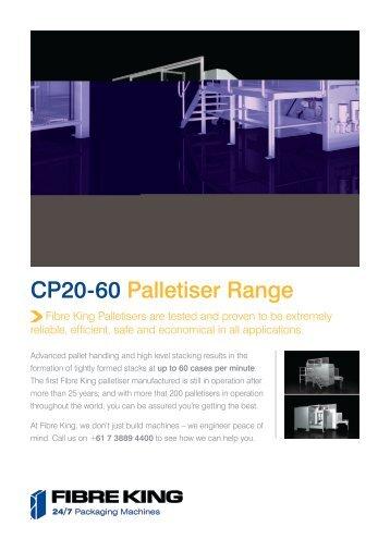 CP20-60 Palletiser Range - Ferret