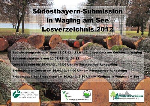Südostbayern - Submission - Bayerische Staatsforsten