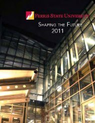 Self-Study Report - Ferris State University