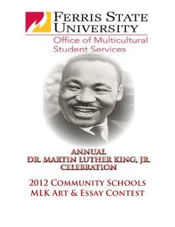 2012 Community Schools MLK Art & Essay Contest - Ferris State ...