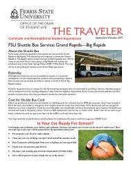 THE TRAVELER - Ferris State University