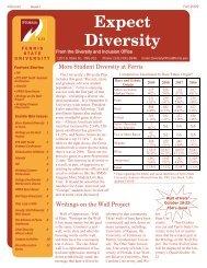 Expect Diversity - Ferris State University