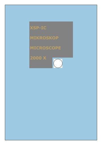 XSP-IC MIKROSKOP MICROSCOPE 2000 X