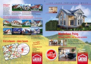 M usterhaus Poing. - Fertighaus Weiss GmbH