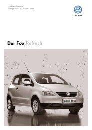 Der Fox Refresh - Tauwald Automobile