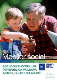 abandonul copilului în republica moldova: actori, soluţii şi lacune