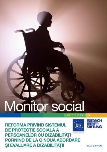 reforma privind sistemul de protecţie socială a persoanelor cu ...