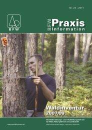 Waldinventur 2007/09 - BFW