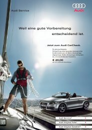 Audi Service - Feser-Graf-Gruppe