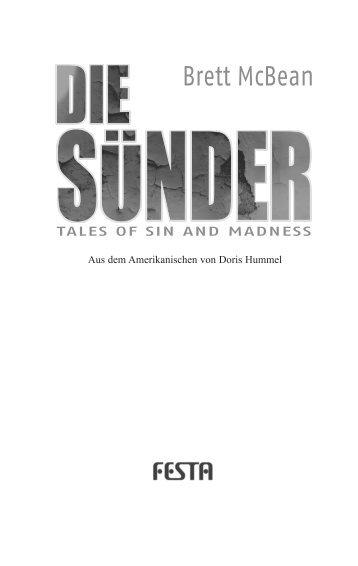Die Sünder.indd - Festa Verlag