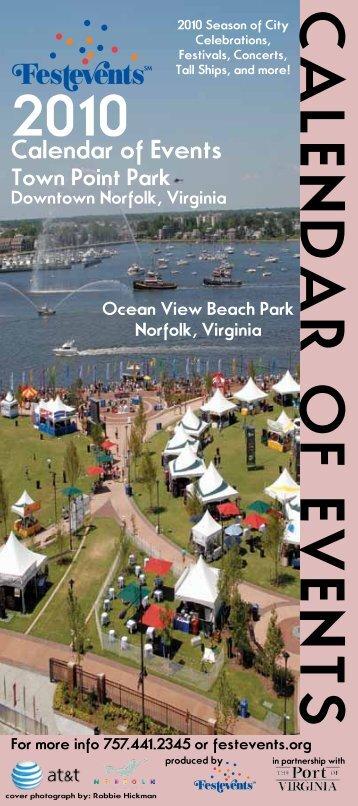 Calendar of Events - Festevents