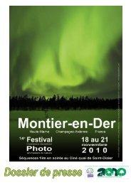 Dossier de presse 2010.indd - Festival de Montier-en-Der
