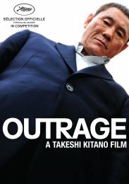 A TAKESHI KITANO FILM - Cannes International Film Festival
