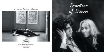 philippe garrel - Cannes International Film Festival