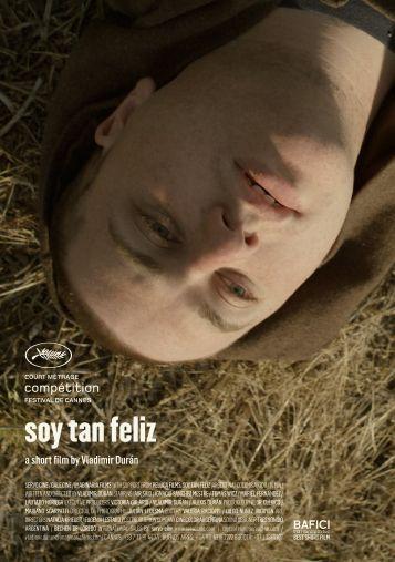 soy tan feliz - Cannes International Film Festival