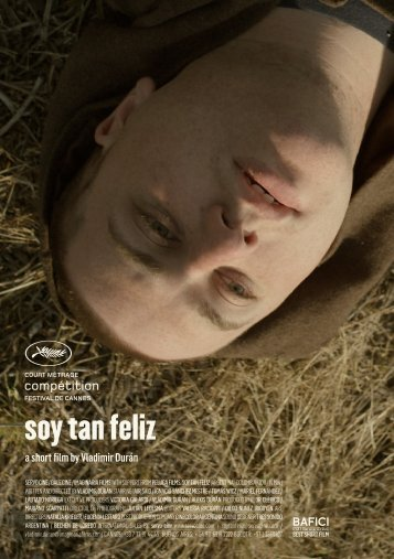 soy tan feliz - Cannes International Film Festival