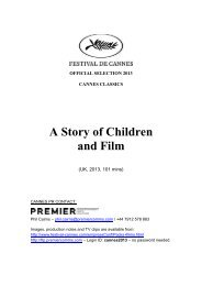 English - Cannes International Film Festival