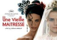 a film by Catherine BREILLAT - Cannes International Film Festival