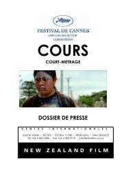 Cours Press Kit-FRENCH PRESS KIT RUN - Festival de Cannes