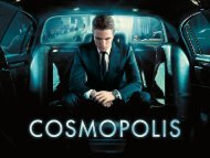 Cosmopolis - Cannes International Film Festival