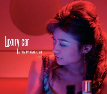 English press kit Luxury Car - Festival de Cannes