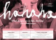 a lm by HONG Sangsoo - Cannes International Film Festival