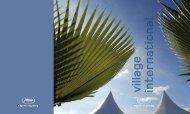 le Village International - Cannes International Film Festival