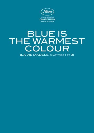 blue is the warmest colour - Cannes International Film Festival