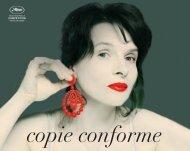 copie conforme - Cannes International Film Festival