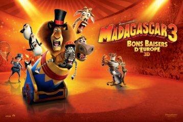 French Press Kit MADAGASCAR 3 - Cannes International Film Festival