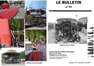Bulletin du 21 mai - Festival Passages