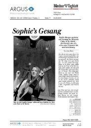 Sophie's Gesang - Festival da Jazz