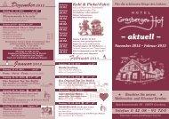 Flyer Grasberger Hof PDF - Die Festjuwelen